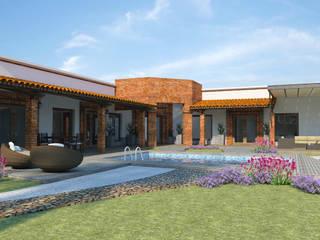 Projekty,  Taras zaprojektowane przez Acrópolis Arquitectura
