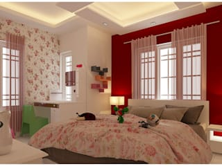 Amanora Park Pune - Pent House Modern nursery/kids room by DECOR DREAMS Modern