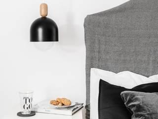 LOFT OVOI CZARNA LAMPA WISZĄCA: styl , w kategorii  zaprojektowany przez Kolorowe Kable