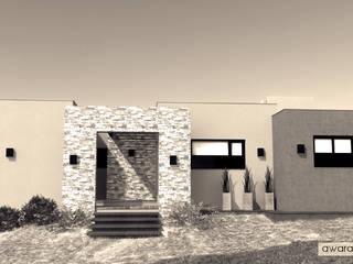 CASA CG de áwaras arquitectos Moderno
