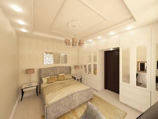Квартира в Санкт-Петербурге.: Спальни в . Автор – Мария Остроумова
