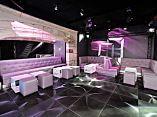 DISCOTHEQUE LE MENESTREL Bars & clubs modernes par AGENCE DEL IN Moderne