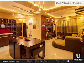 CONTEMPORARY INTERIORS BUNGALOW -RESIDENCE-APARTMENT- VILLA INTERIOR UNISPACE INTERIOR