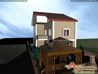 artankara içmimarlık® – villa projesi:  tarz