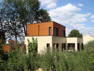 Wooden houses by EC-BOIS, Modern