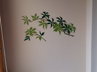 Wall Sticker helps to cover holes Xiu Feng Shui