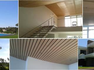 Pedro de Almeida Carvalho, Arquitecto, Lda Casa unifamiliare Cemento armato Bianco