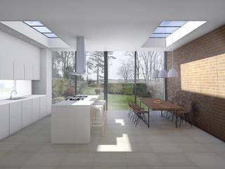 Amersham House Dapur Modern Oleh Studio AVC Modern