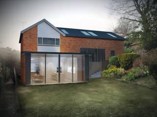 Amersham House Rumah Modern Oleh Studio AVC Modern