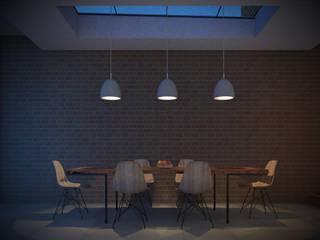 Amersham House Ruang Makan Modern Oleh Studio AVC Modern