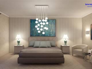 Quartos minimalistas por 'Design studio S-8' Minimalista