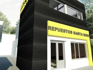 AMPLIACION DEPOSITO Y OFICINA PARA IMPORTANTE COMERCIO DE SANTA ROSA, LA PAMPA:  de estilo  por Structa Steel Framing