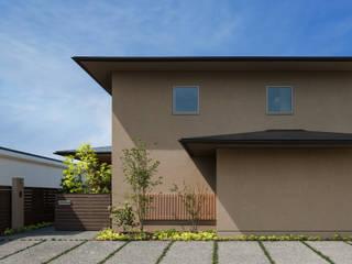 福津の家: 柳瀬真澄建築設計工房 Masumi Yanase Architect Officeが手掛けた木造住宅です。