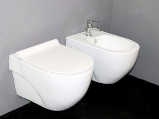 Smile Bath S.A. Modern bathroom Ceramic White