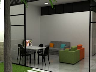 Modern living room by Elizabeth SJ Modern
