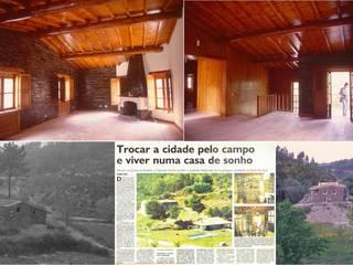 Pedro de Almeida Carvalho, Arquitecto, Lda Country house Stone Grey