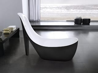 Smile Bath S.A. Baños de estilo moderno Negro