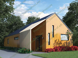 Cedar Longhouse by Abodde by Abodde Housing