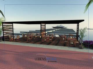 Marina Nuevo Vallarta Balcones y terrazas tropicales de Lebenswerk S.A. de C.V. Tropical