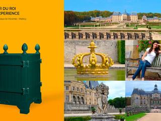Jardinier du Roi, Versailles planter dark green Chateau de Vaux Le Vicomte, France:   by Jardinier du Roi