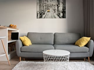 Scandinavian style living room by SO INTERIORS ARCHITEKTURA WNĘTRZ Scandinavian
