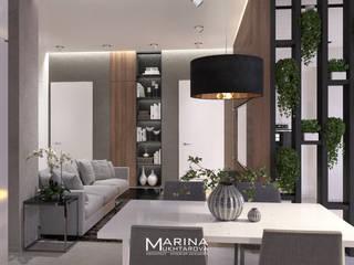 Кухня-гостиная: Гостиная в . Автор – Архитектор-дизайнер Марина Мухтарова