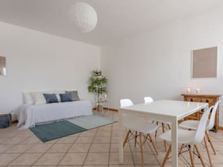 Habitat Home Staging & Photography SalonCanapés & Fauteuils Blanc