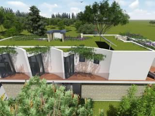 """Casa en """"Rifugio Nel Lago"""" de Sinapsis Estudio Moderno"""