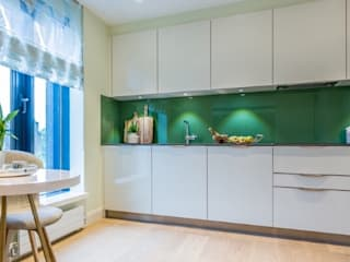 Apartment redesign and refurbishment Modern style kitchen by Hampstead Design Hub Modern