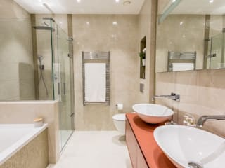 Apartment redesign and refurbishment Modern Banyo Hampstead Design Hub Modern
