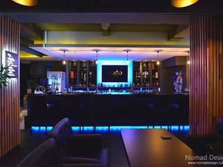 부산 모던바 인테리어,  'Coco Bar' - 노마드디자인: 노마드디자인 / Nomad design의  계단