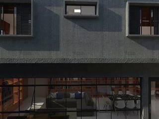 Residência AF: Casas  por Marcelo Pestana Arquitetura,Moderno