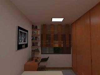 Residência AF: Quartos  por Marcelo Pestana Arquitetura,Moderno