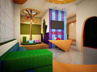 Kidzee School Karnal Modern schools by Studio Rhomboid Modern