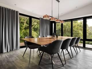 Modern dining room by 鈊楹室內裝修設計股份有限公司 Modern