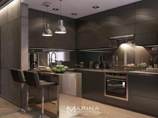 Загородный дом Кухня в стиле лофт от Архитектор-дизайнер Марина Мухтарова Лофт