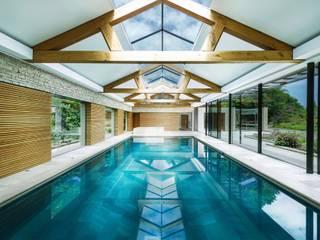 Pool, Pool Haus, Fassaden und Aussenanlage Moderne Pools von Ecologic City Garden - Paul Marie Creation Modern