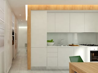 ULA architects Modern kitchen