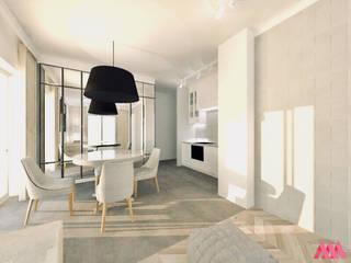 Mieszkanie | Warszawa od MWZ Architektura Wnętrz