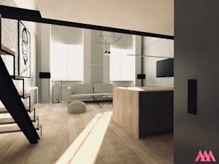 LOFT | Żyrardów od MWZ Architektura Wnętrz