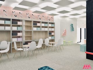 Playroom: styl , w kategorii  zaprojektowany przez MWZ Architektura Wnętrz