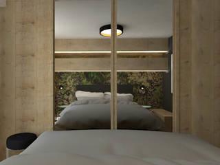Sypialnia: styl , w kategorii  zaprojektowany przez MWZ Architektura Wnętrz