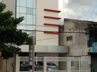 ETEC - Assessoria Contábil Edifícios comerciais modernos por Marcos Assmar Arquitetura | Paisagismo Moderno