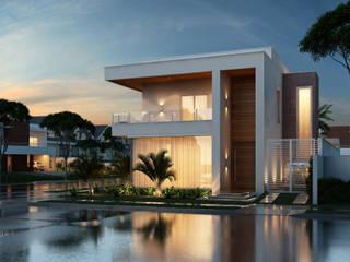 Projetos Residenciais Casas modernas por Marcos Assmar Arquitetura | Paisagismo Moderno