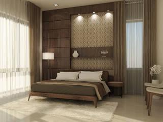 Interior Design of Mr Saravanan - Tulive - ECR - Appartment :   by Aurazia Design Studio