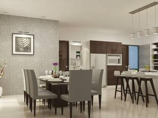 Interior Design of Mr Saravanan - Tulive - ECR - Appartment :  Bedroom by Aurazia Design Studio