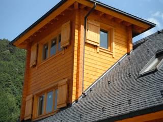 Casas de madera de estilo  de EC-BOIS, Rústico