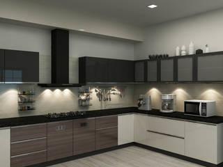 Shobha's Residence,Panaiyur:  Kitchen units by M/s Studio7 Architects