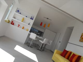 Moderne Wohnzimmer von ArchiDesign LAB Modern