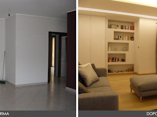 Modern Living Room by ArchiDesign LAB Modern